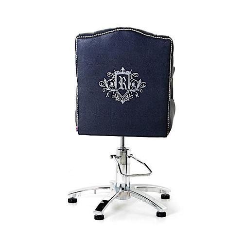 Custom embroidery on the WBX Belmont chair back is available as an optional extra