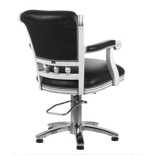 Rear view of the WBX Pompadour styling chair