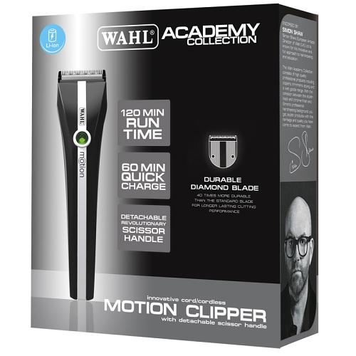 Packaging for the Wahl Academy Motion Clipper