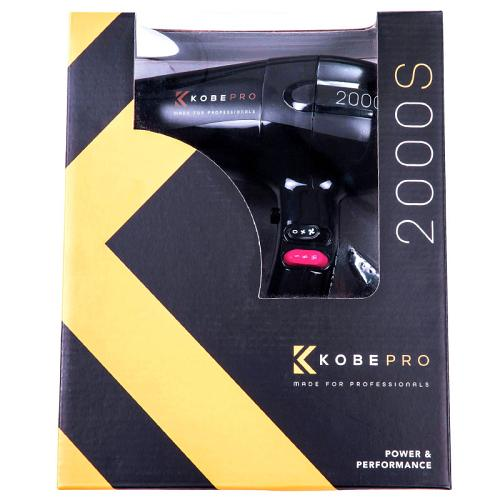 Packaging for the Kobe Pro 2000S Hair Dryer