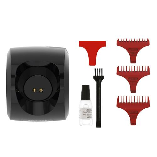 Accessories supplied with the Wahl Cordless Detailer Li