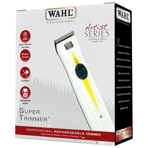 Packaging for the Wahl Super Trimmer