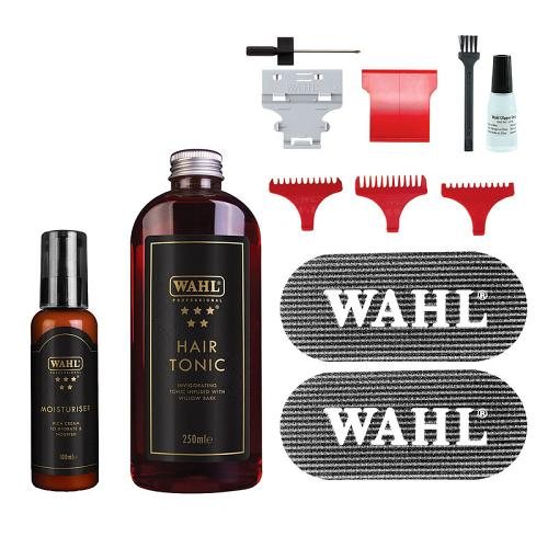 Accesssories supplied with the Wahl Detailer Special Edition Bonus Pack