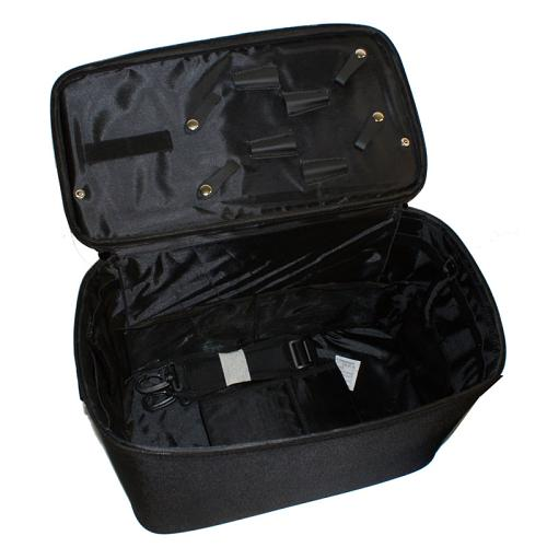 Interior of one of the set of Head Jog Equipment Cases