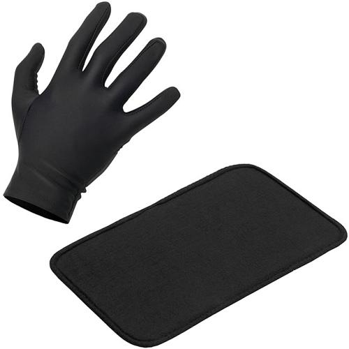 Heat mat and protection glove supplied with every BaByliss Pro Conical Wand