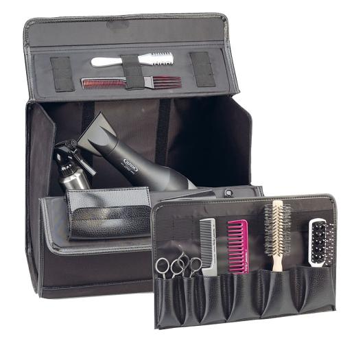 Sibel Pilotrol hairdressing equipment case with pull-out section.