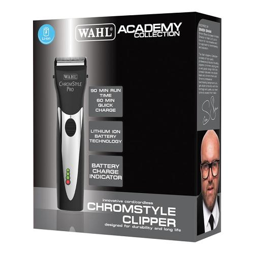 Packaging for the Wahl Academy Chromstyle  clipper