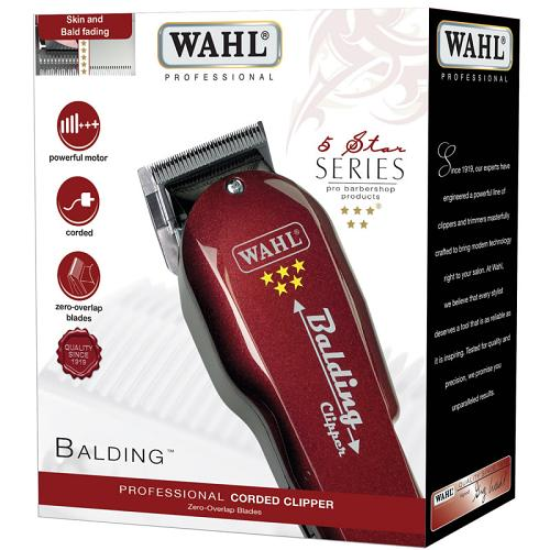 Packaging for the Wahl Balding hair clipper