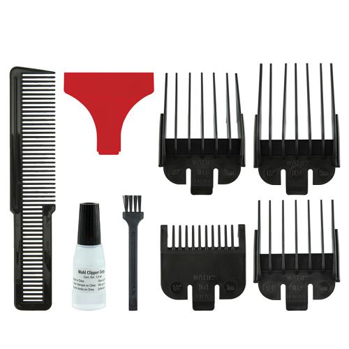 Accessories supplied with the Wahl Cordless Super Taper