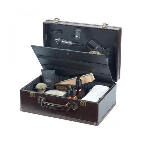Barburys Retro Vintage Case open showing compartments