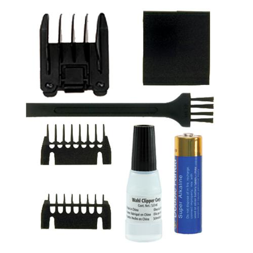 Accessories supplied with the Wahl Pocket Pro trimmer