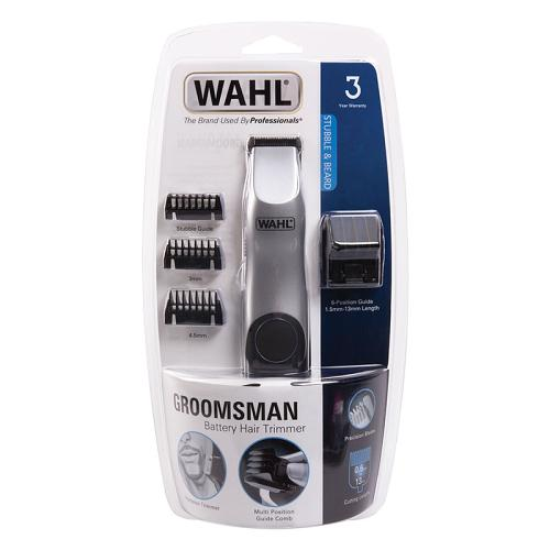 Packaging for the Wahl Groomsman Battery
