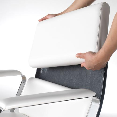 The Adria II's cushions can be easily replaced to keep them looking constantly pristine