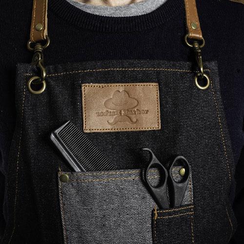 Front pocket detail.