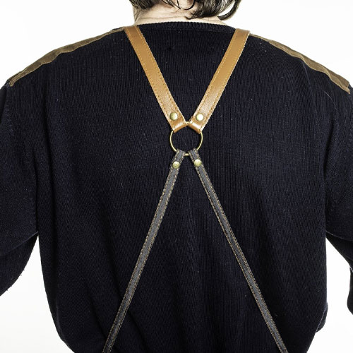 Rear of apron.