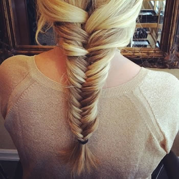 Fishtail Plait Tutorial