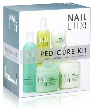 Salon System NailLUX Pedicure Kit