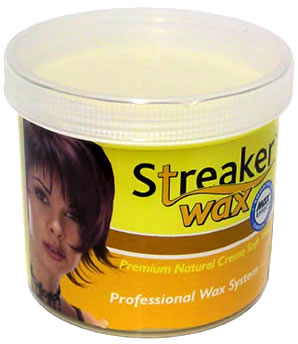 Streaker Wax Premium Natural Creme Soft Wax