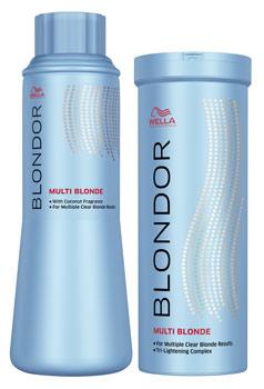 Wella Blondor Multi Blonde Coolblades Professional Hair Beauty
