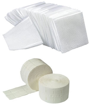 CoolBlades Nail Wipes (Singles or Roll)