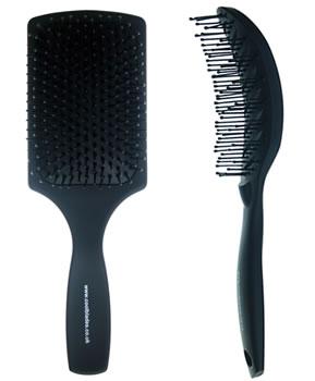 CoolBlades Paddle 'n' Vent Brush Set