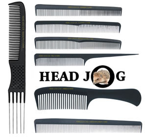 Head Jog Carbon Combs: Set of 7