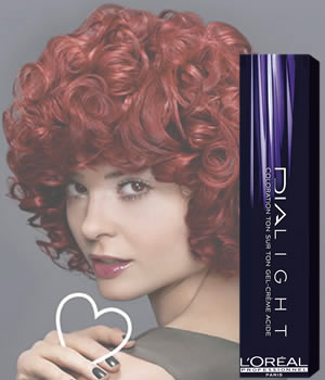 L'Oreal Professionnel DIALIGHT - Red / Copper / Burgundy