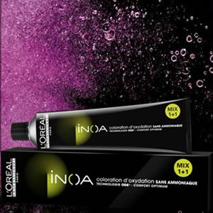 L'Oreal Professionnel Inoa - Burgundy/Iridescent