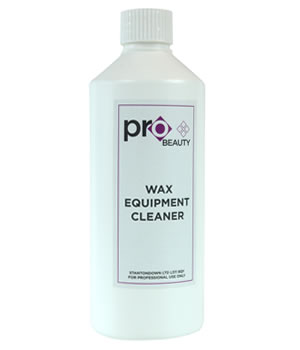Pro Beauty Wax Equipment Cleaner