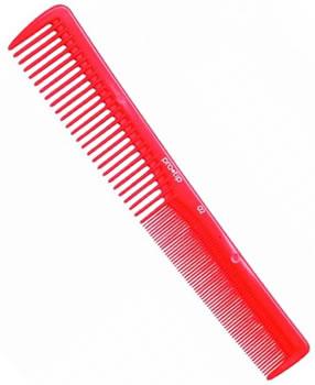 Pro-Tip Red Medium Cutting Comb (175 mm) (02)