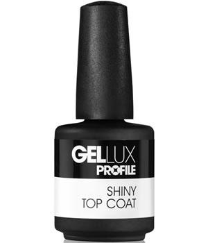 Salon System Gellux Profile Shiny Top Coat