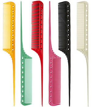 YS Park 111 Fine-Toothed Tail Comb (220 mm)
