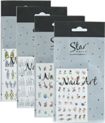 Star Nails Nail Art Transfers