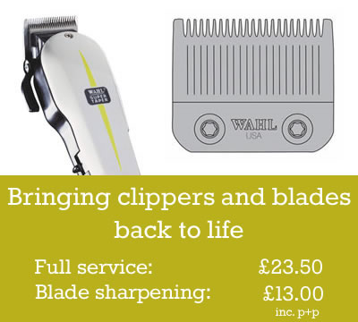 Bringing clippers and blades back to life