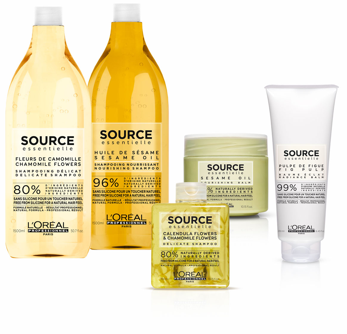 L'Oreal Source Essentielle product group