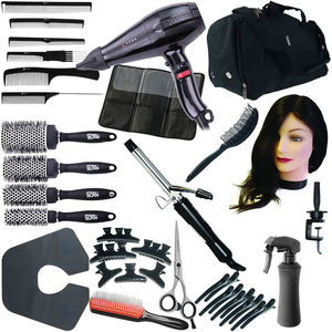Complete Hairdressing College Kit: Black
