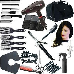 Complete Hairdressing College Kit: Black