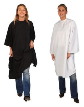 Sibel Economy Hairdressing Gown (Black or White)