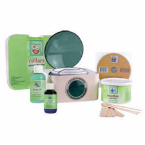 Clean and Easy Complete Brazilian Wax Kit