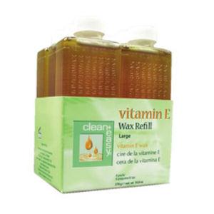 Clean and Easy Vitamin E Wax Refills x 6