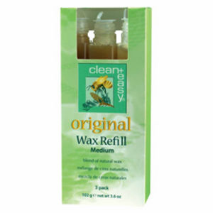 Clean and Easy Original Wax Medium Refill (x3)