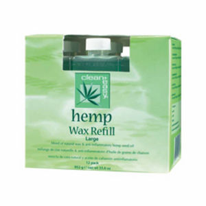 Clean and Easy Hemp Wax Large Refill (x12)