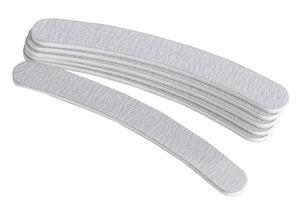 Star Nails Zebra Boomerang File (180 grit) - Pack of 6