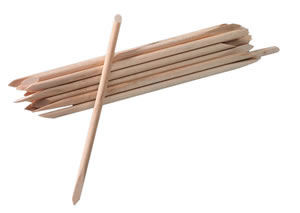 Star Nails Orangewood Manicure Sticks (x20)
