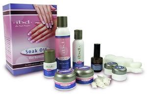 IBD Soak Off Gel Nails Kit