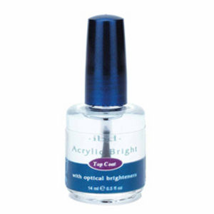 IBD Nails Acrylic Bright Top Coat 0.5oz / 114ml
