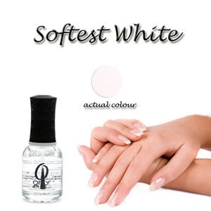 "Orly French Tip Nail Lacquer ""Softest White"" 18ml"