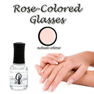 "Orly French Manicure Nail Lacquer ""Rose Colored Glasses"" 18ml"