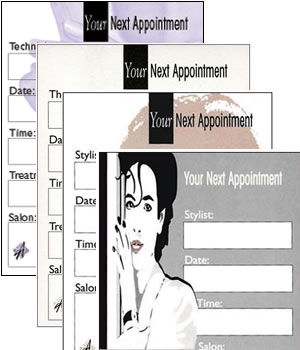 Agenda Salon Appointment Cards