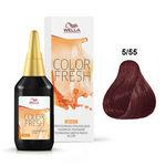 Color Fresh 5/55 - Light Intensive Mahogany Brown
